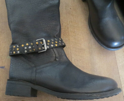 Boots Size 189th Leather 36 Value Minka New Black BwPqPd1