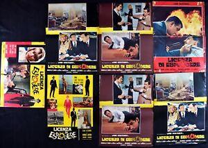 Fotobusta Lizenz Von Explodieren 197A Lino Ventura Mireille Darc Jean Lefebv R06