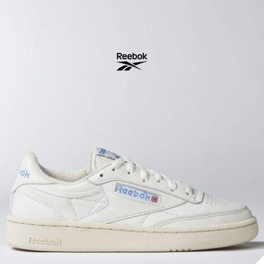 Chaussures Club Beige Vintage Reebok Classic 85 C Ew00qz