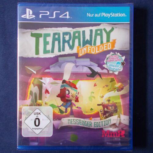 1 von 1 - PS4 - Playstation ► Tearaway Unfolded - Messenger Edition ◄ NEU & OVP