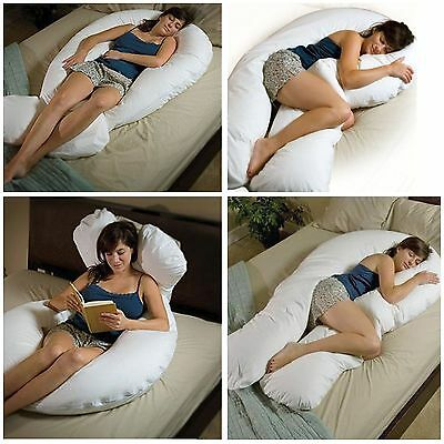 BIG 12 FT V SHAPE WITH CASE BACK SUPPORT MATERNITY PREGNANCY COMFORT VPILLOW