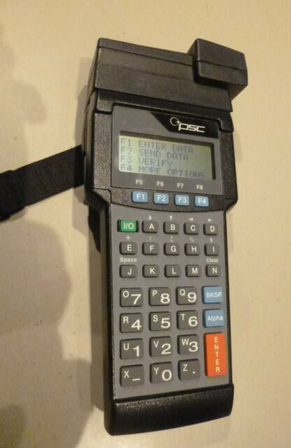Percon PT2000 Portable Handheld Data Terminal Barcode Scanner with Wand