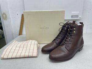 Sezane Eugenie Boots - Chocolate - Euro Size 41