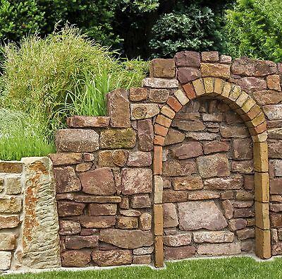 Schnelle Lieferung 1,3 T Trockenmauersteine € 210/t Weinbergmauer Buntsandstein Sandsteinmauer Hof Gute QualitäT