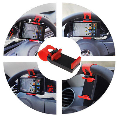 Brand New Car Steering Wheel Bike Clip Mount Holder For iphone Phone Samsung GPS