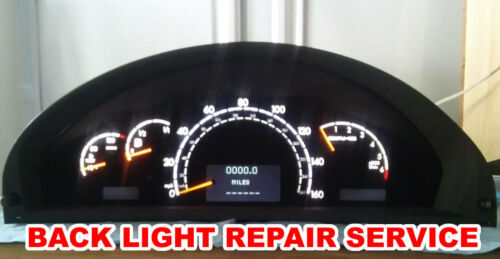 S430 Mercedes W220 Instrument Cluster Back Light REPAIR SERVICE S55 S500 s320
