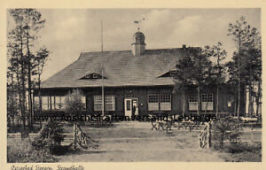 Steegen bei Danzig - Ostseebad - Strandhalle - Stegna - Westpreußen