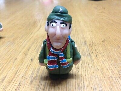 "Dad/'s Army 2.5/"" privati Fraser FIGURINA MINI FIGURE DI CLAY cake topper"