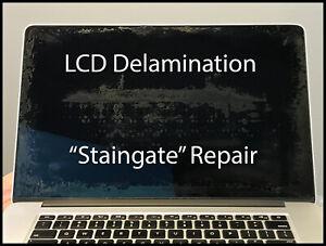 MacBook-Pro-Retina-a1502-13-034-Ende-2013-Bildschirm-LCD-Probe-gestreut-Reparatur