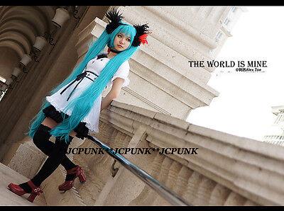 VOCALOID Hatsune MIKU World is Mine Cosplay Costume Dress