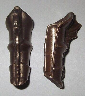 19205, 2x (1 Coppia) Armrüstung, Armschutz, Armamenti, Metallizzato-
