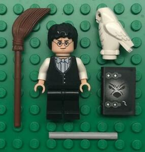 LEGO Harry Potter Minifigure Yule Ball Vest /& Bow Tie Tuxedo Goblet of Fire