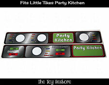 New Replacement Decals Stickers fits Little Tikes Party Kitchen Separate Decals
