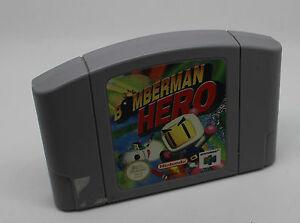 BOMBERMAN-HERO-Nintendo-64-Cartuccia-PAL