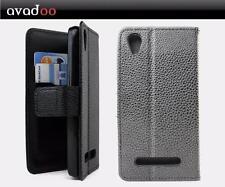 avadoo® Medion Life E4504 Flip Case Cover Tasche Schwarz Magnetverschluss Hülle