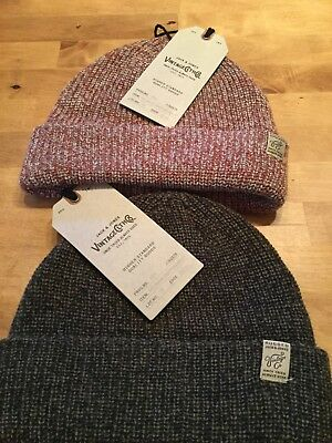 jack and Jones Vintage range Beanie hat in 2 colours