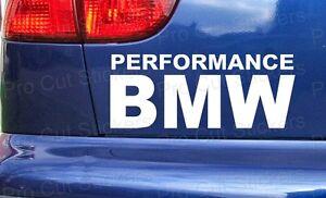 Rendimiento-BMW-a-Medida-Coche-Parachoques-Ventanillas-ADHESIVOS-PEGATINAS
