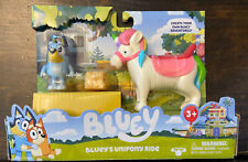 Details about  /NEW BLUEY BLUEY/'S UNIPONY RIDE Toy Figures Set IN HAND