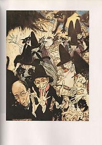 Image Is Loading Arthur Rackham Print Mother Goose The Old Nursery