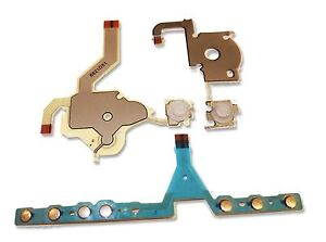 SONY-PSP-3000-REPLACEMENT-HOME-VOLUME-START-KEY-RIBBON-CABLE-SET-UK-Seller