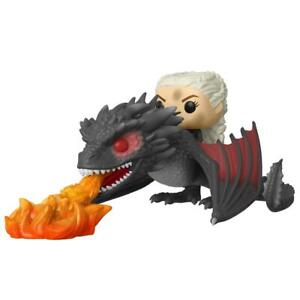 FUNKO Pop 68 Daenerys On Drogon GAME OF THRONES Figure 15 Dragon CM Series TV #1
