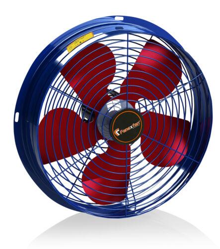Turbo industria muro Assiale Ventilatore Finestra ø250 2200m³h ventola ventilatore aria di scarico
