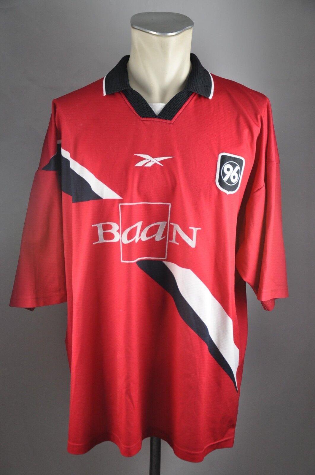 Hannover 96 Trikot Gr. XXL Reebok 1998-99 Home Baan 90er vintage