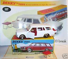 DINKY TOYS ATLAS SIMCA 1500 BREAK REF 507 BOX portes coffre ouvrants IN BOX