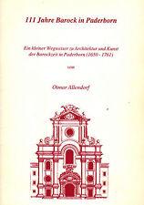 Allendorf, 111 J. Barock i Paderborn, Paderborner Barockzeit Architektur + Kunst