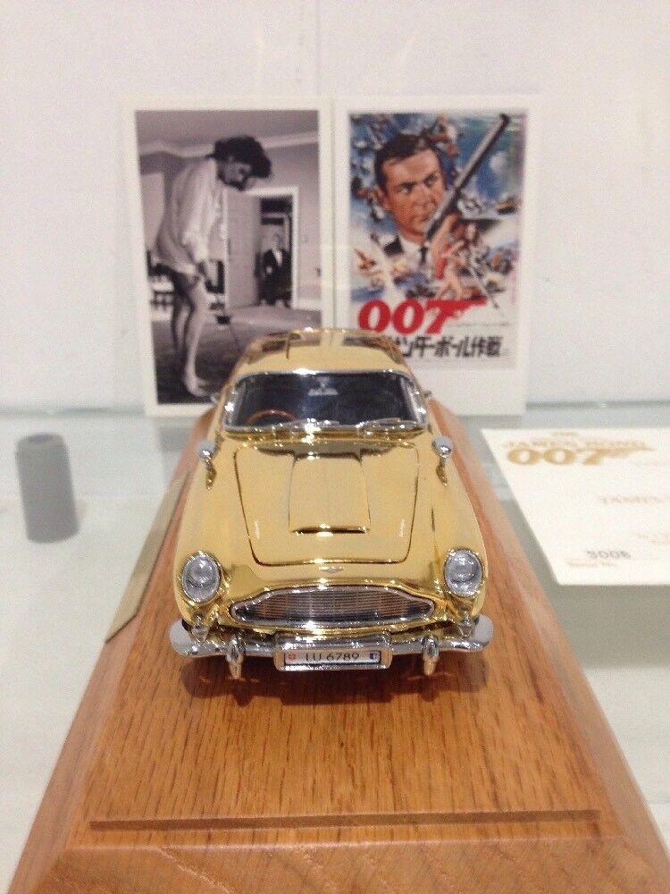 exclusivo Vintage Vintage Vintage Aston Martin DB5 GT oro Plateado Coche de espía  gran venta