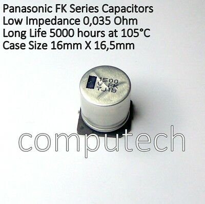 1500UF 35V Condensatore elettrolitico 16x32mm 105 ELVT 1500UF 35V