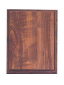 10 Pc Lot 5 X7 Finished Wood Plaque