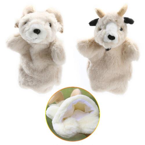 Cartoon Animal Hand Finger Puppets Glove Plush Doll Baby Developmental Kids Toys