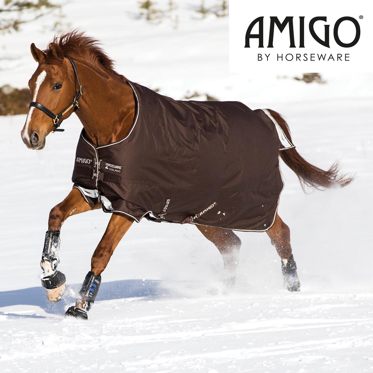Horseware Amigo Amigo Horseware Bravo 12 400g Heavyweight Turnout Rug d54a9e