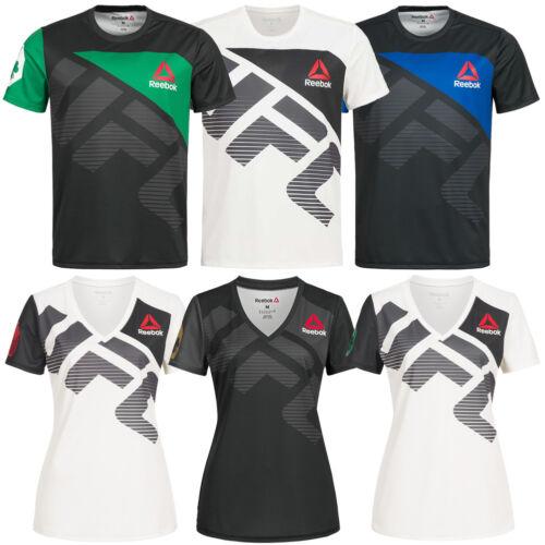 absolut stilvoll Release-Info zu günstig kaufen Reebok UFC Fight Shirt Walkout Jersey Conor McGregor Rousey MMA Shirt  Trikot neu   eBay