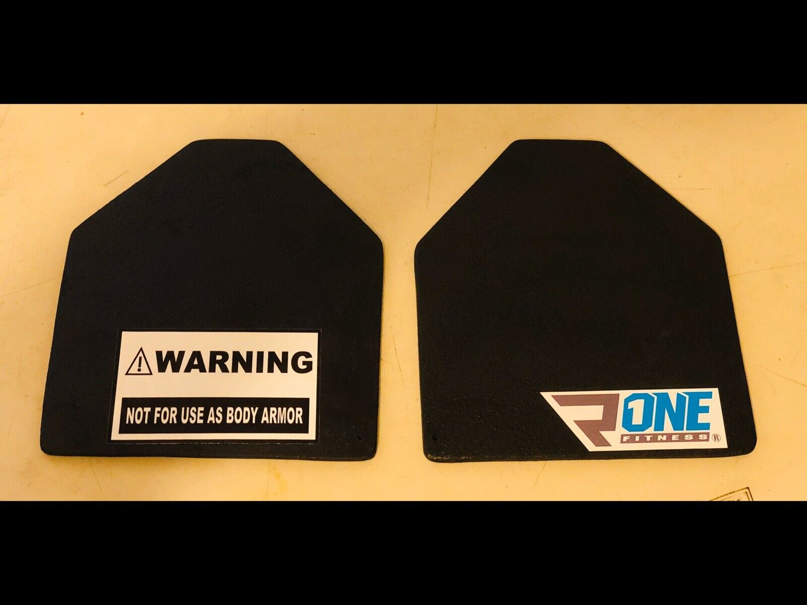 R One Fitness  3.75 Lb Weight Vest Plates Pair Fits 5.11 And Condor