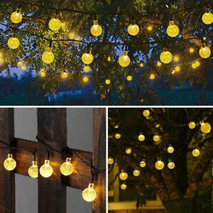 50LED-Solar-Powered-String-Light-Garden-Path-Yard-Decor-Lamp-Outdoor-Waterproof