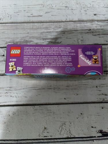 LEGO Friends 41383 Olivia/'s Hamster Playground NEW Retired Sealed Fast Shipping