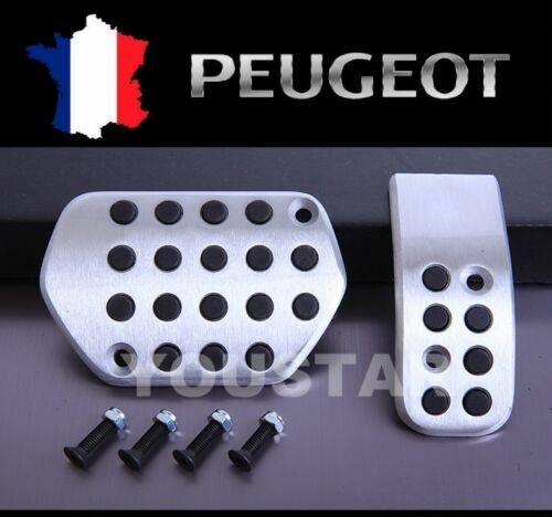 USA STOCK Automatic Sports Pedals for PEUGEOT 207 208 307 308 301 2008 3008 508
