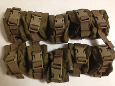 LOT OF 100 EAGLE INDUSTRIES USMC FRAG GRENADE POUCH'S SINGLE MC-FGC-1-MS-COY NEW