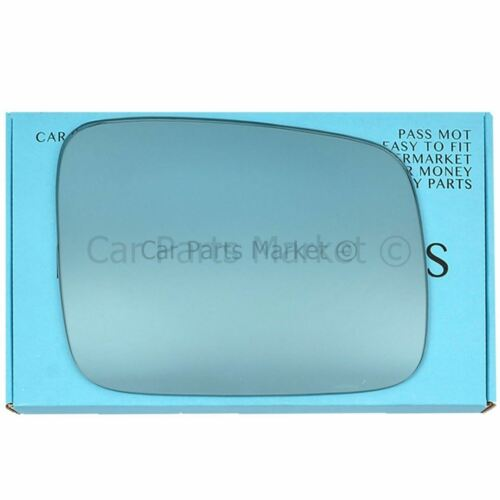 Right Driver side blue wing mirror glass for Vw Transporter 1990-2003