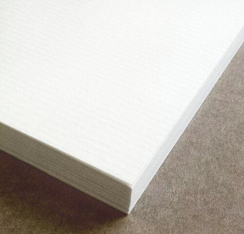 A4 100 Hojas conquistador blanco puso con textura 100gsm papel del arte Pack marca de agua