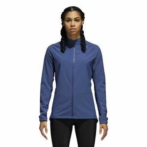 Details about Adidas Women's Supernova Storm Jacket SMALL 8 10 NOBLE INDIGO