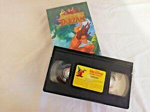 Tarzan Film VHS Animation Walt Disney Kassette Tape Spanisch