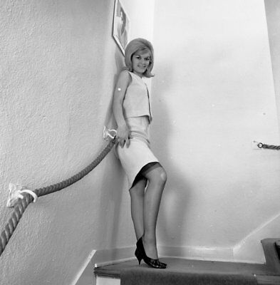 1960s Ron Vogel Negative, gorgeous blonde pin-up girl