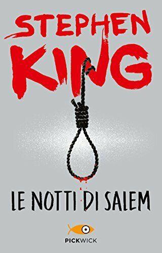 Stephen King - Le notti di Salem - Libro NUOVO in Edizione illustrata