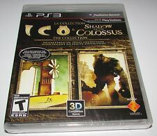 Ico & Shadow of Colossus Collection for Playstation 3 Brand New! Factory Sealed!
