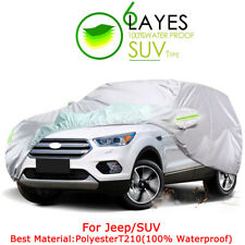Jeepsuv Universal All Weather Car Cover Outdoor Waterproof Uv Rain Protection Fits Jeep