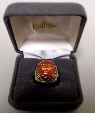 Balfour NBA Chicago Bulls Ring Size 11 Gold BX21/10