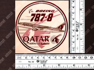 ROUND-DIECUT-QATAR-AIRWAYS-BOEING-B787-DECAL-STICKER-3-5-x-3-5in-9-x-9cm